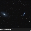 M 81, M 82 and SN 2014J (sub 2min/1hod 36min, DF)